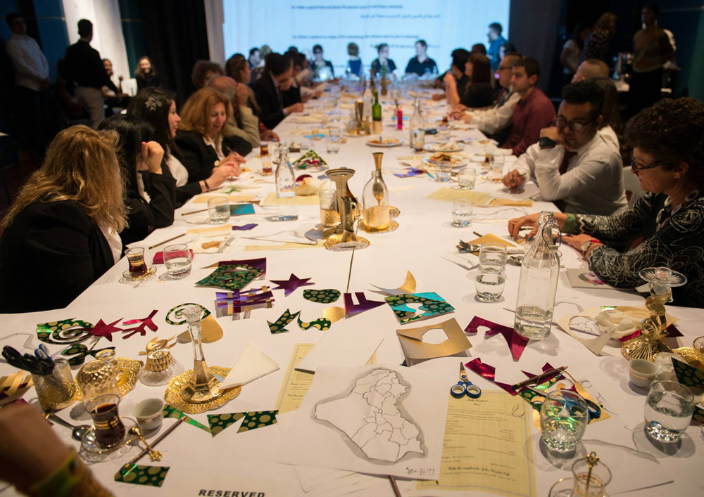 Image #9 The Long Table, Little Baghdad Development, 2014, Powerhouse Youth Theatre