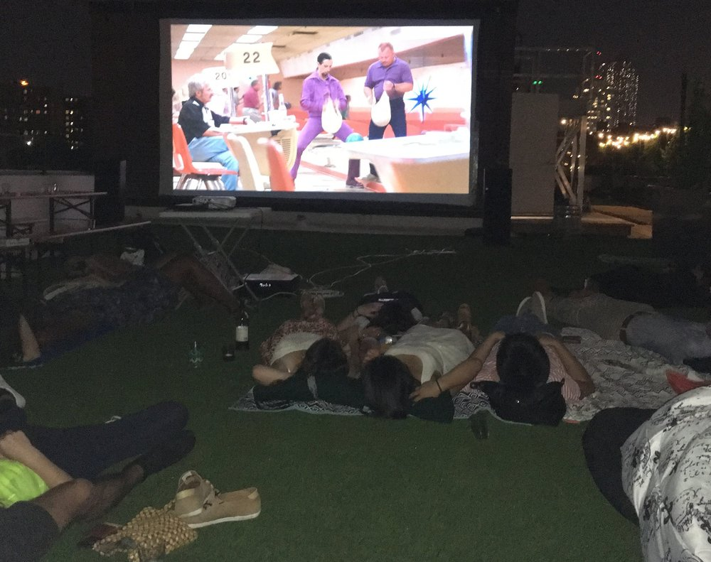 The Big Lebowski Playing at Rooftop Reds -- Summer 2016
