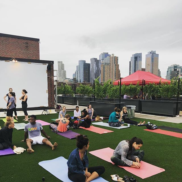 WE HAVE YOGA NEWS 🧘‍♀️ 🧘‍♂️ use code SEPT5 to receive $5 off all classes in September (if you're sneaky you'll pre- purchase your October classes with that code also!) if you haven't been to one of our yoga classes this season, now is the time. 🍷, 🌅 and 🧘‍♀️ 🧘‍♂️ = 🙌🏻