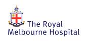Royal Melbourne Hospital logo