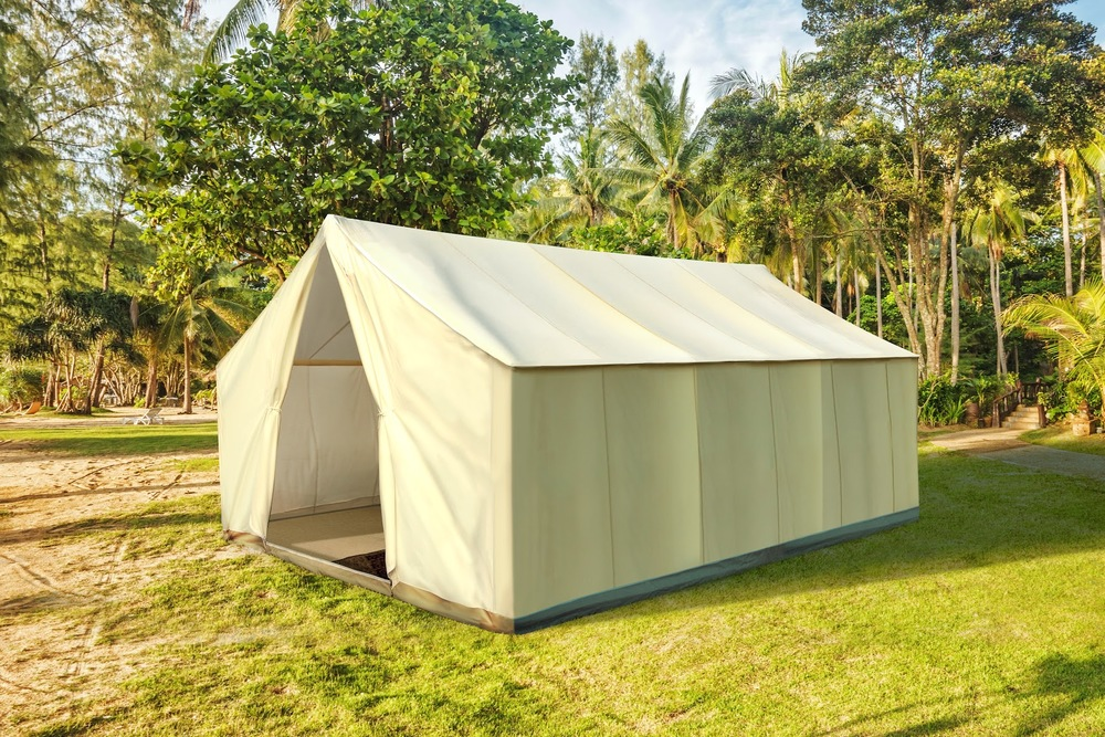The Ultimate Private Safari Tent The Garden Safari Tent embodies the tradition and lure of exotic : canvas safari tent - memphite.com