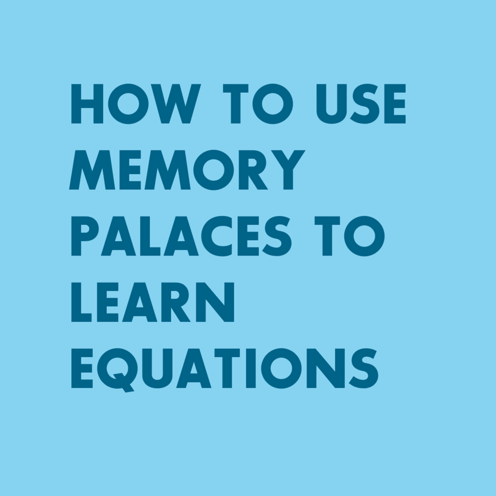 Study Hacks - Memory Techniques and Memory Palaces for