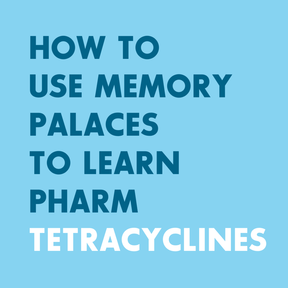 Pharmacology - Memory Techniques and Memory Palaces for