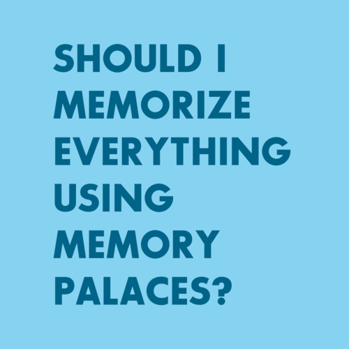 memory palaces for students: memory everything using memory palace images
