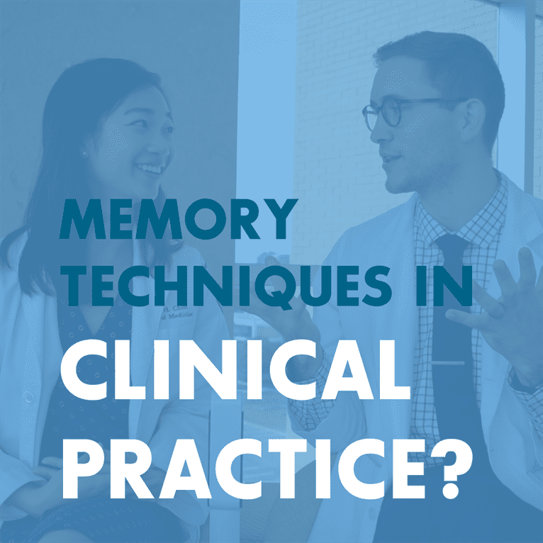 Medicine - Memory Techniques and Memory Palaces for Medical School