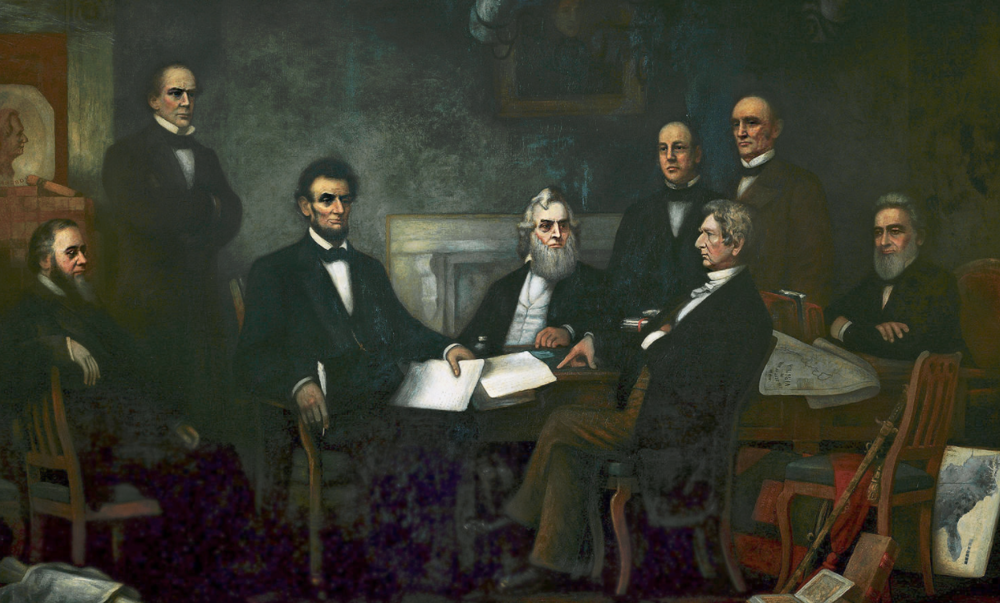 A House Divided Cannot Stand: Abraham Lincoln's Cabinet -