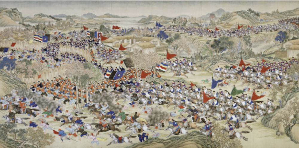The End of the Qianlong Empire -