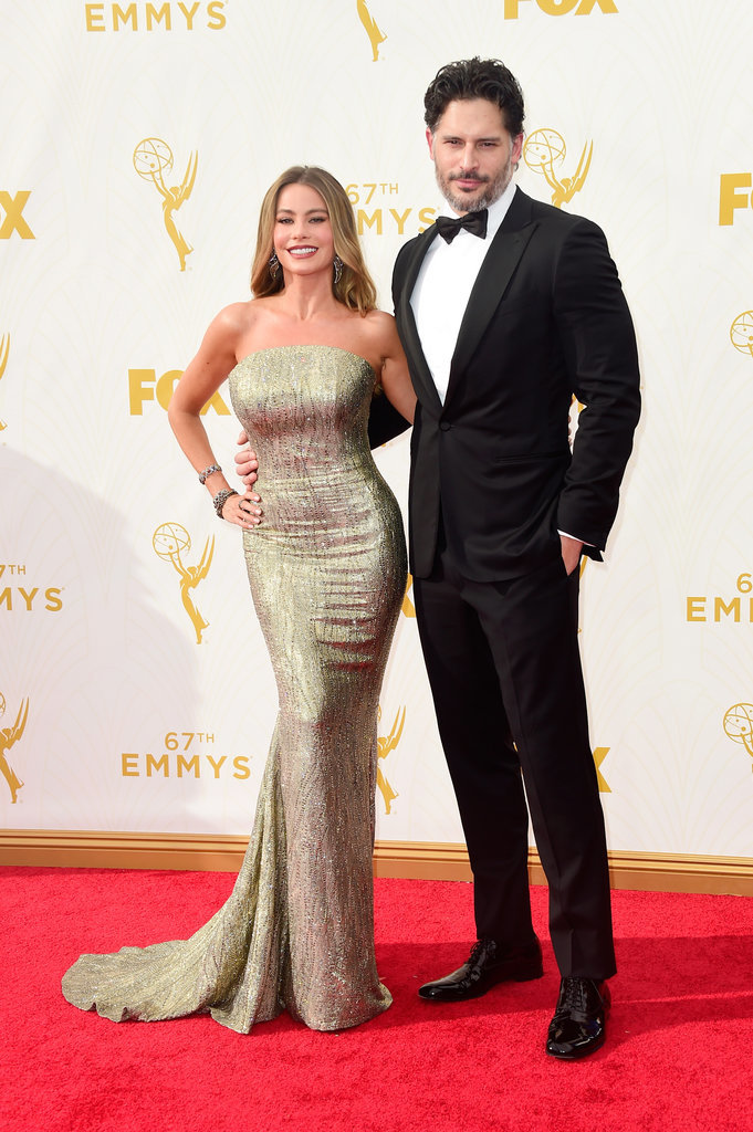 sofia-Vergara-Joe-Manganiello-2015-emmy-awards-red-carpet