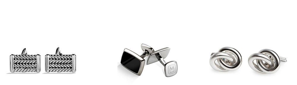 David Yurman Chevron - $350            M-Clip Enamel - $114.95          Lavin Loop Cuff - $145