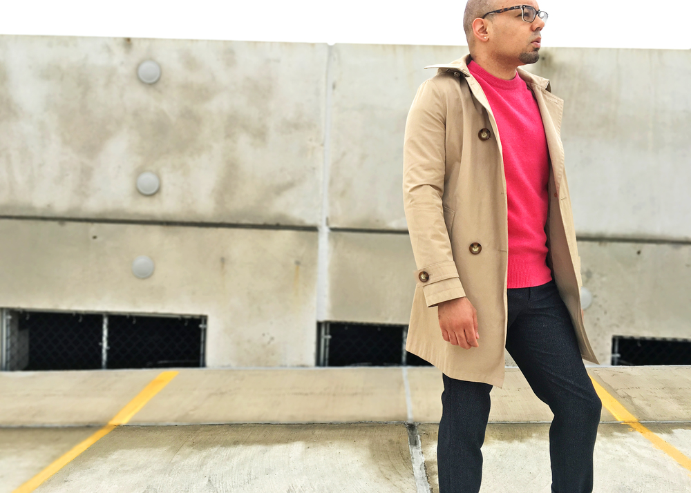 sam-c-perry-camel-trench-pink-sweater-side-angle.jpg