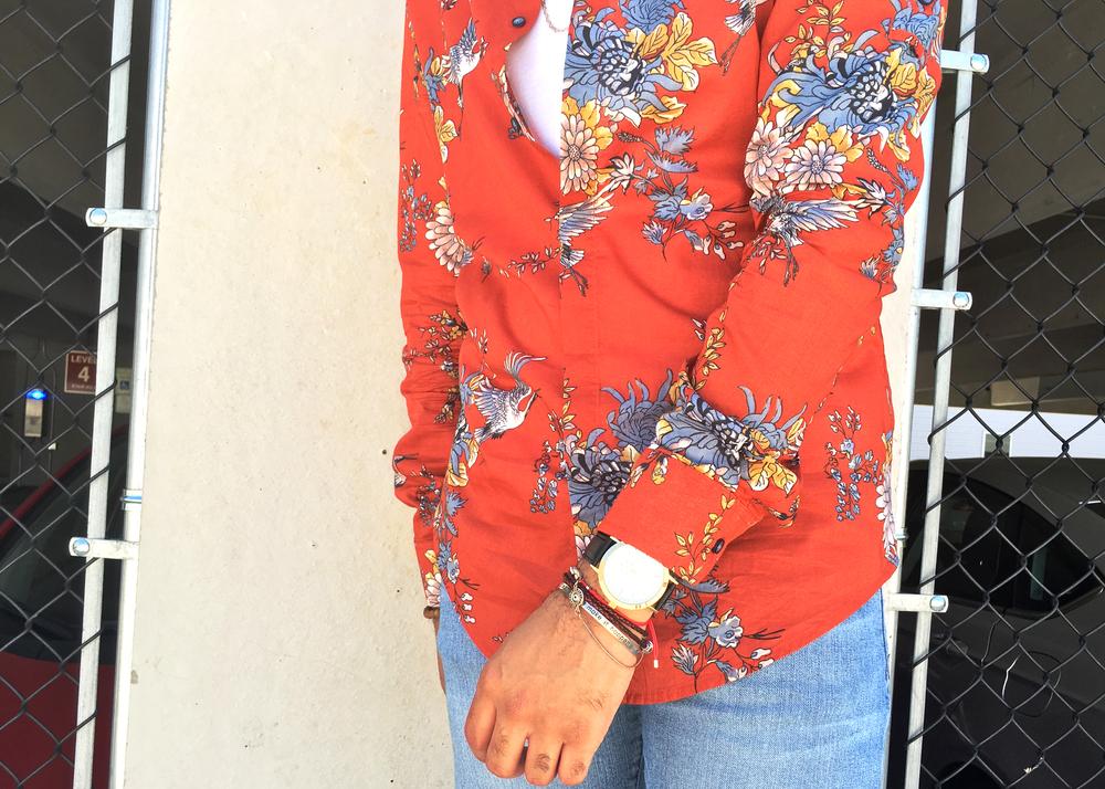 sam-c-perry-printed-Mandarin-collar-woven-denim-shorts-zoom.jpg