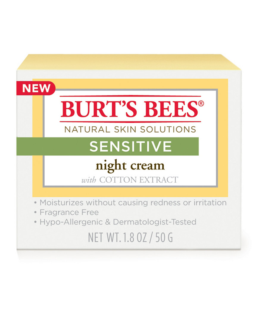 Burt's Bees Night Cream - $15