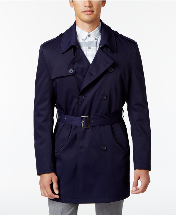 sam-c-perry-navy-trench-white-trousers-calvin-klein-rain-coat.jpg