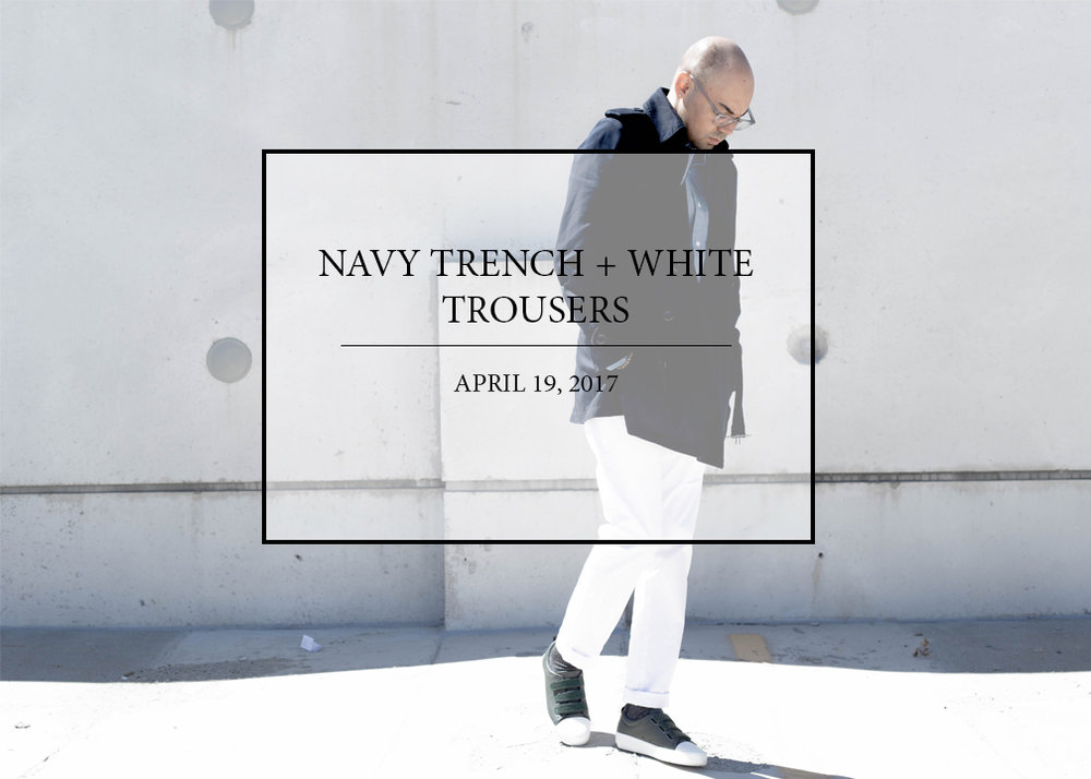sam-c-perry-navy-trench-white-trousers.jpg