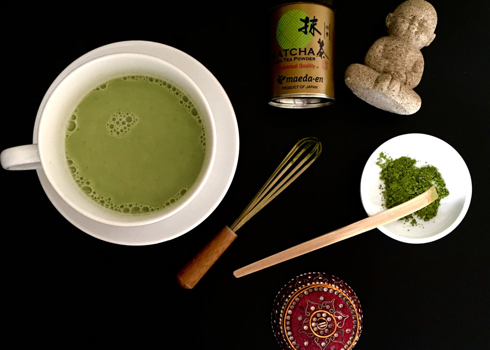 Skip the Coffee...Drink Matcha -