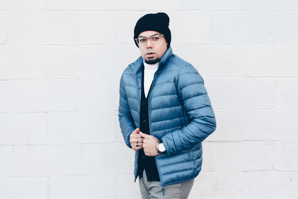 Uniqlo Heat Tech Holiday Looks -