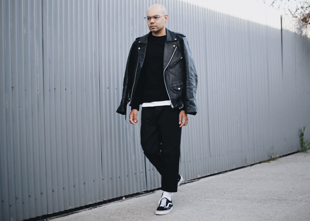 all-black-mens-streetwear-black-leather-jacket-full-walk-2.jpg