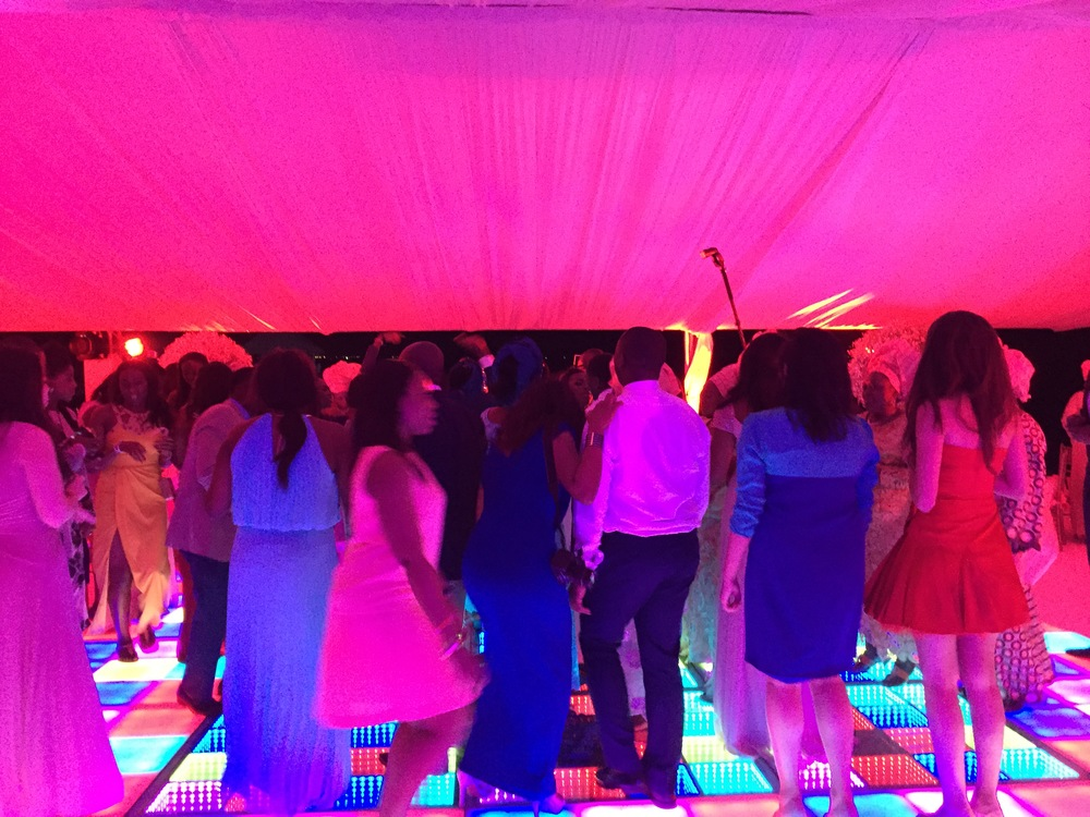 Nigerian Wedding DJ at a destination wedding in Cancun, Mexico. #yd14 December 2014