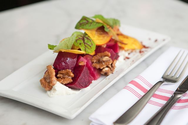 Might just be the king of beet salads. Fun shoot at @almondnyc last year. #littlebeasteats