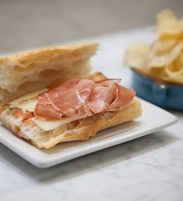 Prosciutto! This sandwich is to die for. From the good folks at @bocadillonyc #littlebeastshoots #littlebeasteats