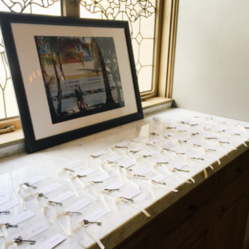 The Sage initiation: Set-up escort cards PERFECTLY.