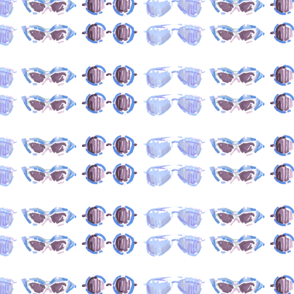 Pattern5. Sunglasses(Blue)
