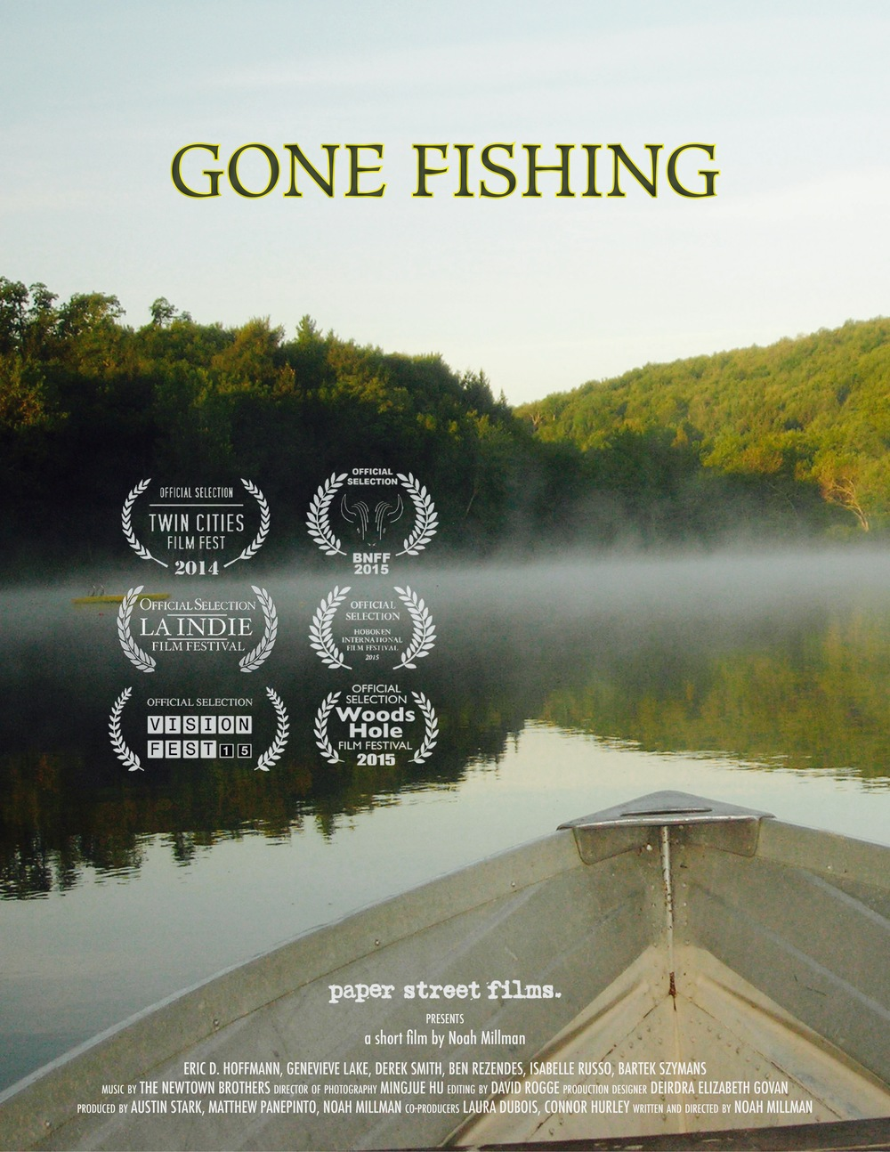 Laura dubois for Gone fishing movie