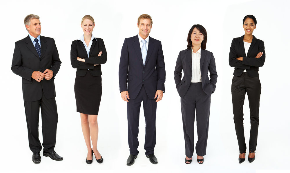 Examples of professional dress