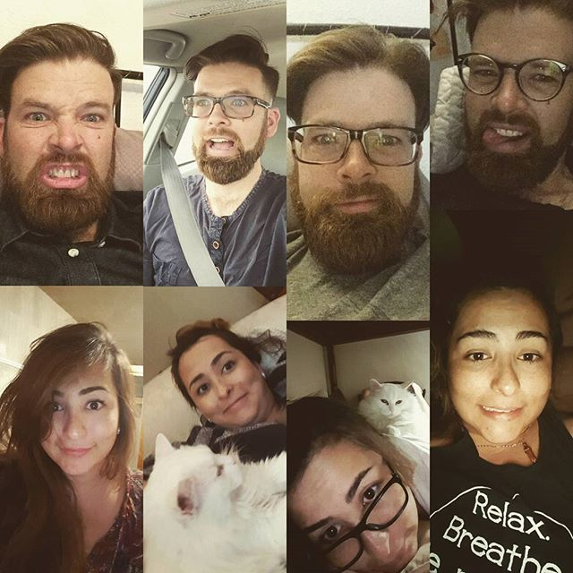 My phone is getting filled with a nice collection of long distance selfies. Maybe I should start an album. #longdistancesucks #longdistancerelationship #catlady