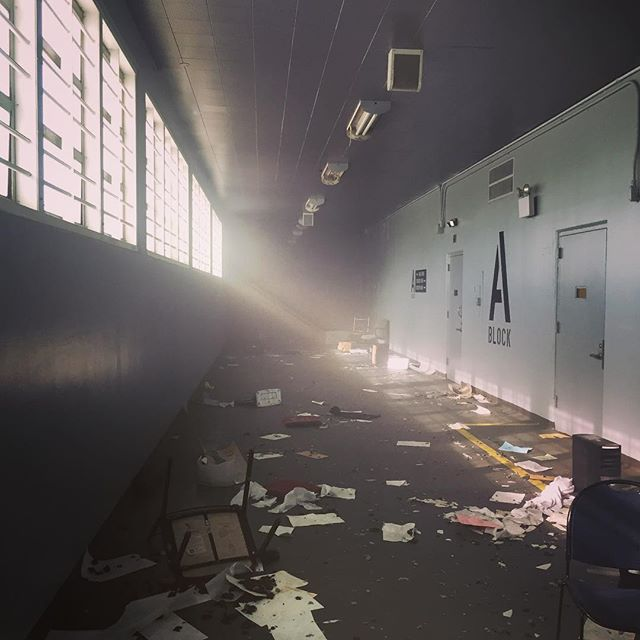 Prison riot aftermath. #setlife