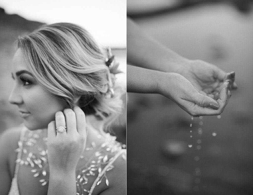 Fall Bridal Elk Rock Island Wedding Inspo