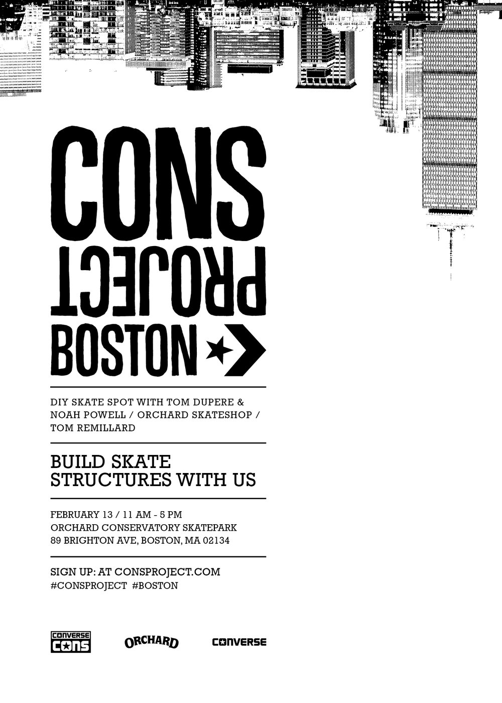 CONS Project Boston Invitation
