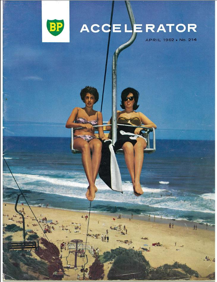 The Portsea chairlift (1962 - circa 1971) built by Australian manufacturer Ron McCallum.