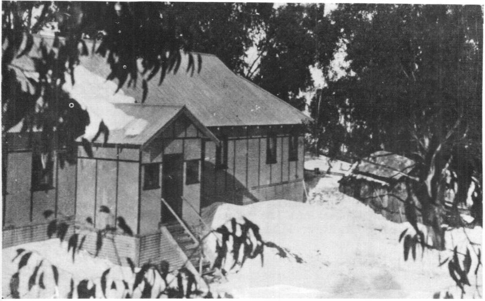 The Buller Chalet in 1932.