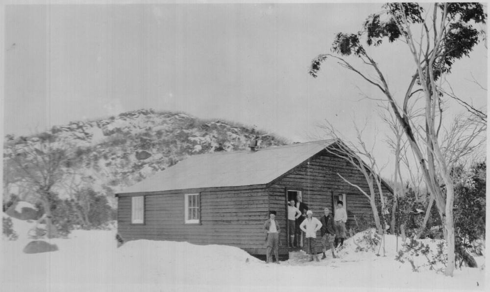 Horn Hut, Buffalo Plateau circa 1924. Photo Kath Magill.