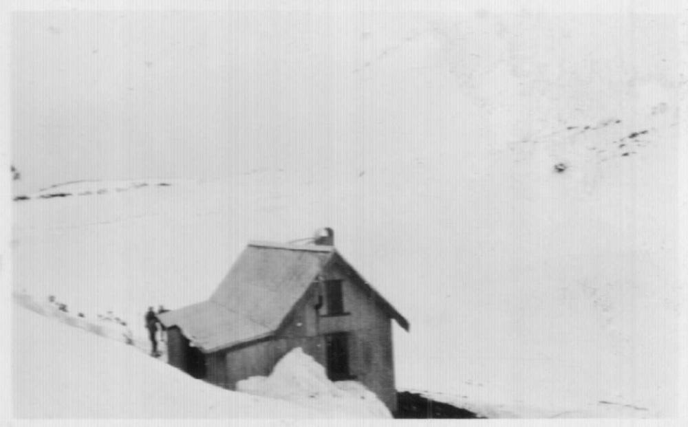 Cope Hut 1930. Cath Magill.