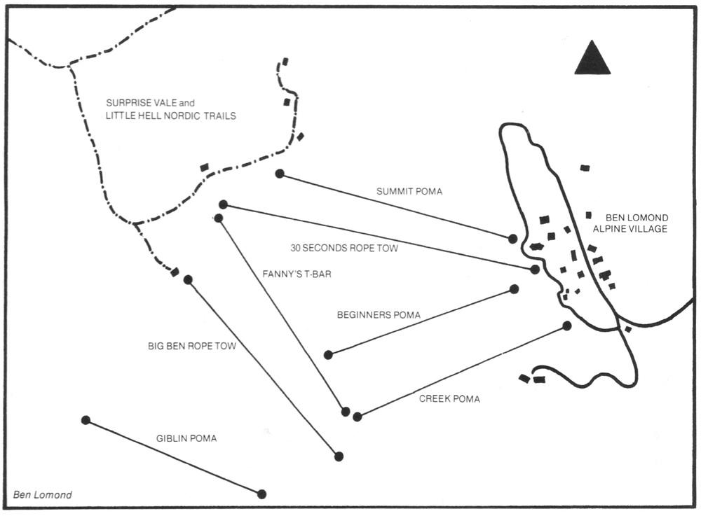 1983 . From  Australian skiing: a complete handbook . Edited by Wendy Cross & Peter Beilby. 4 Seasons, 1983.