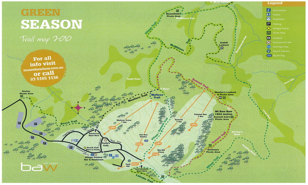 2011 . Walks map