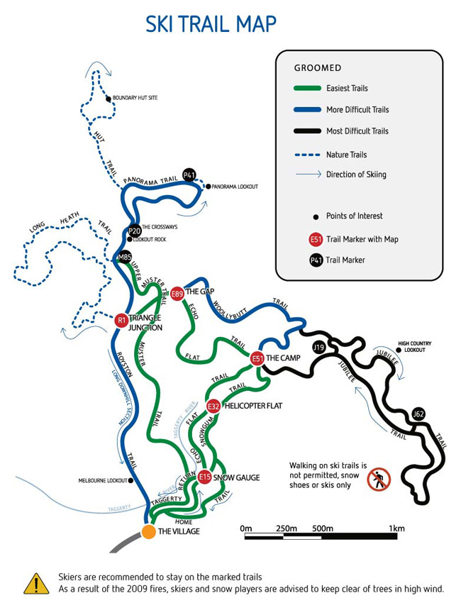 2012.  Trail map.