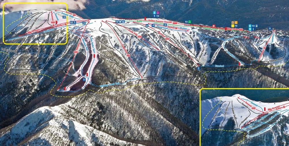 2009. Southern slopes