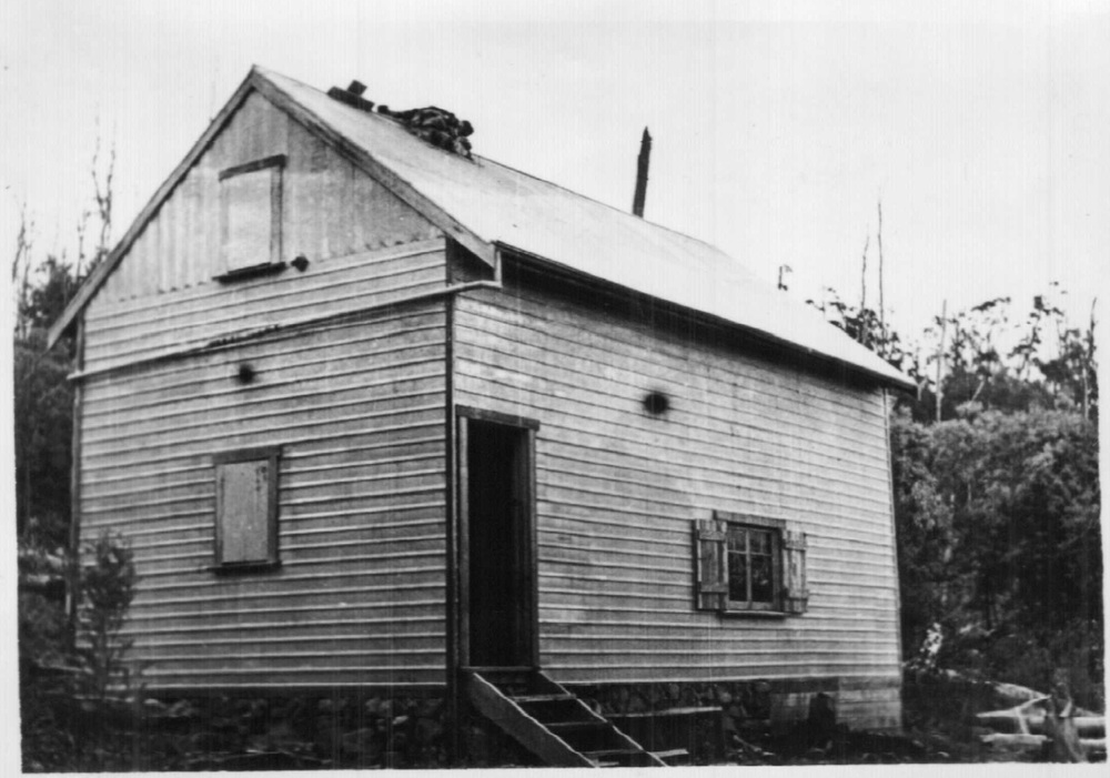One of the ski club cabins built at Mt Donna Buang in 1934. Photo Kath Magill