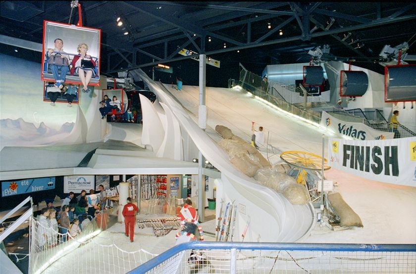 The chairlift that operated in the Swiss pavilion at Brisbane's Expo '88.