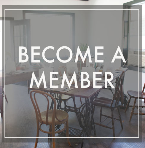 Become a member of The Studio Collective and have a place for co-working, client meetings, networking, photo shoots, and don't forget the coffee.
