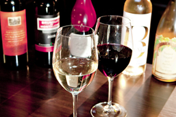 Full Bar Our full bar has a handpicked selection of Italian and California wines for the discriminating palate. See More