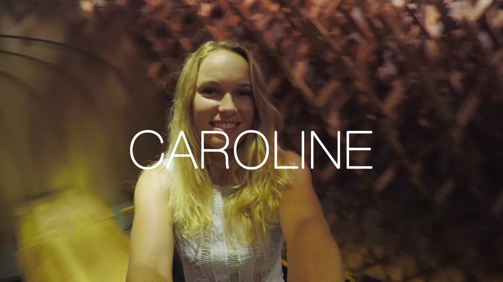 Tennis Superstar Caroline Wozniacki Experiences Singapore