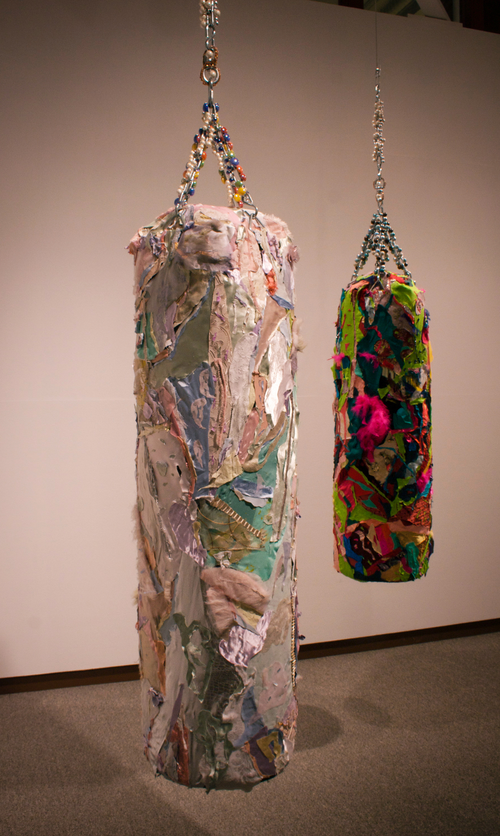 """Float like a Butterfly"", ""Sting like a Bee"" (left, right) , 2010"