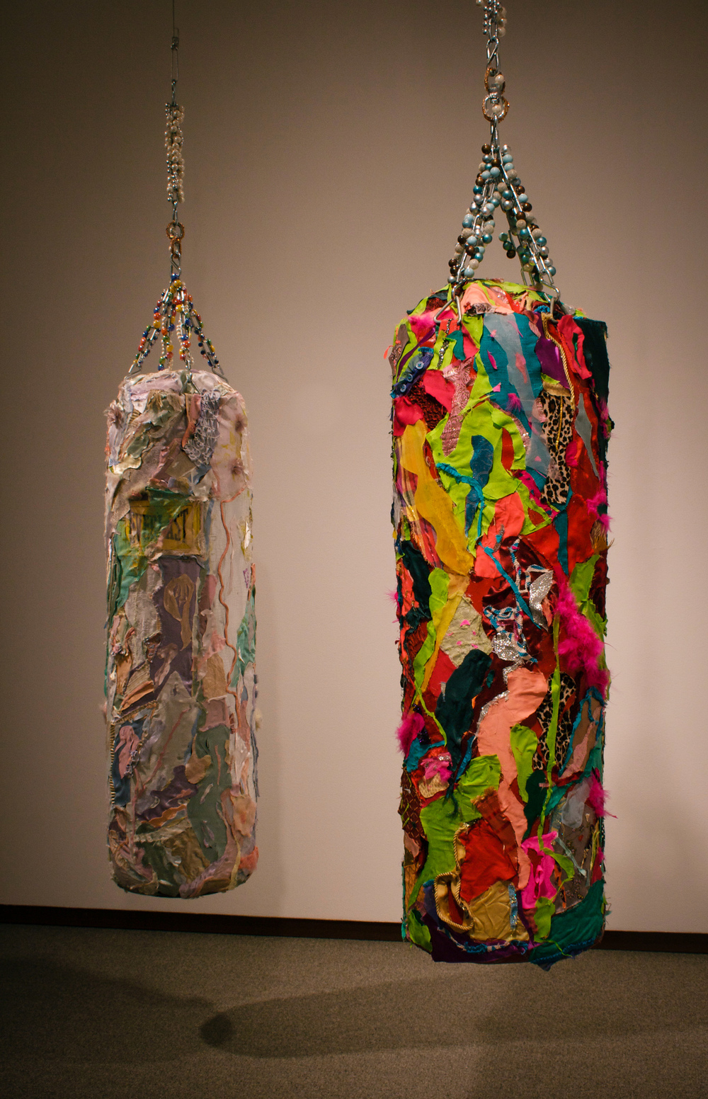 """Float like a Butterfly"", ""Sting like a Bee"" (left, right),  2010"