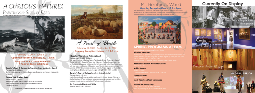 FAM Spring Calendar of Events 2017