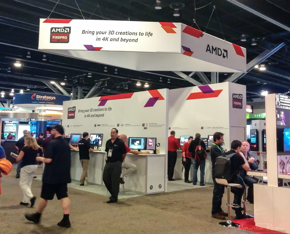 AMD con sus tarjetas de video y cpus,