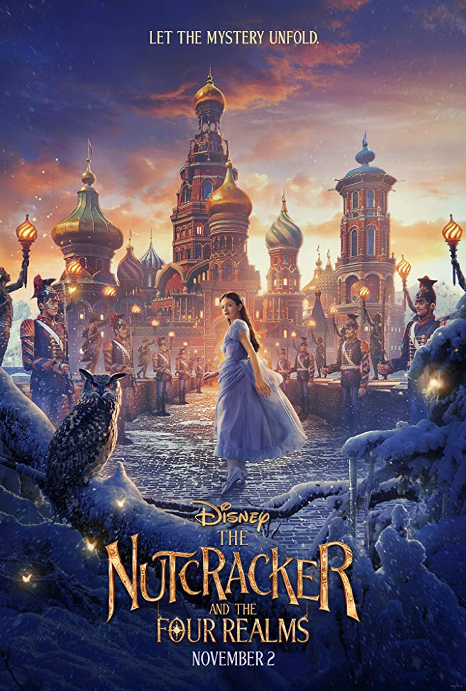 The Nutcracker & 4 Realms poster, was done with one of my shots  All rights reserved to Disney, i'm using as demonstrative purposes.